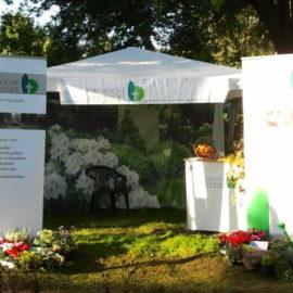 Apfeltage im Botanischen Garten in Hamburg Klein Fottbek
